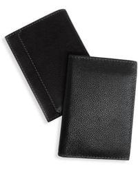 Boconi - Rfid L-fold Leather Wallet - Lyst