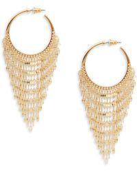 Panacea Geometric Drop Earrings qPGVBbI6Y