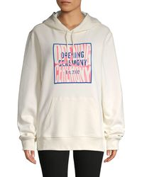 Opening Ceremony Graphic Cotton Hoodie - Multicolor