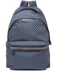 Stella McCartney - Medium Windsor Tie-print Nylon Backpack - Lyst