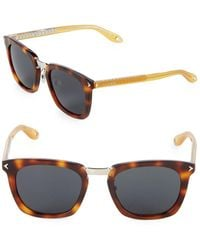 Givenchy - 50mm Square Sunglasses - Lyst