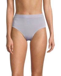 Wacoal Ribbed Stretch Knickers - Grey
