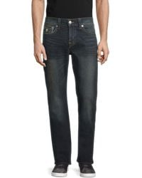 True Religion Ricky Relaxed-fit Straight Jeans - Blue