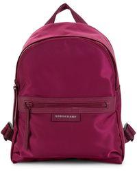 Longchamp Le Pliage Neo Nylon Backpack - Purple