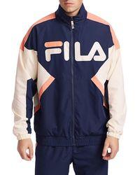 Fila Logo Track Jacket - Blue