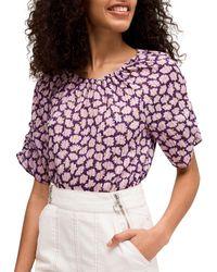 Kate Spade Sunny Bloom Cotton Top - Multicolour