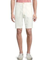 Vince Men's Utility Patch-pocket Shorts - Sail - Size 31 - Multicolour