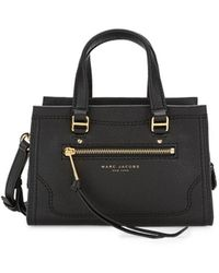 Marc Jacobs Women's Mini Cruiser Leather Satchel - Black