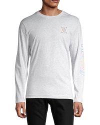 Hurley Electric Logo T-shirt - White
