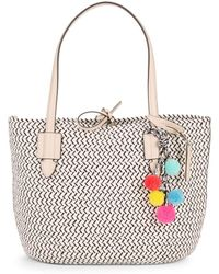 Vince Camuto - Colle Textured Tote - Lyst