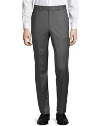 Saks Fifth Avenue - Mid-rise Wool Trousers - Lyst