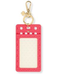 Kate Spade Caning Id Clip - Pink