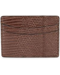 Saks Fifth Avenue - Slim Card Case - Lyst