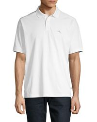 Tommy Bahama Classic Short-sleeve Polo - White
