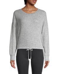 Olive & Oak Drop Shoulder Pullover - Gray