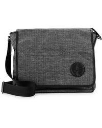 Armani - Textured Messenger Bag - Lyst