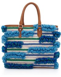 Sam Edelman Gina Tote Bag - Blue