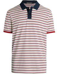 G/FORE Striped Golf Polo - Multicolour