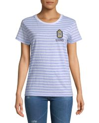 Chrldr - Cotton Nautical Tee - Lyst