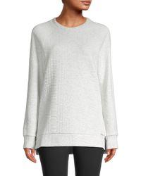 Marc New York Side-zip Sweatshirt - Grey