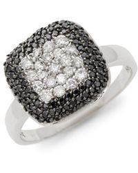 Effy - 14k White Gold & Diamond Ring - Lyst