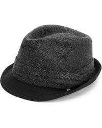 Block Headwear - Herringbone Fedora - Lyst