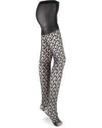 a6a8a94c8e22b Bugatchi Large Dot Socks in Black - Lyst