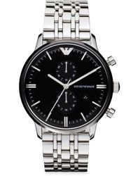 Emporio Armani Classic Stainless Steel Watch - Black