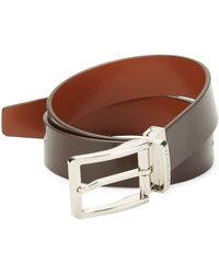 Bruno Magli - Leather Belt - Lyst