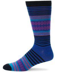 UGG - Striped Crew Socks - Lyst