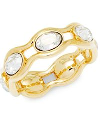 Swarovski - Crystal Band Ring - Lyst