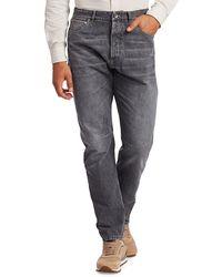 Brunello Cucinelli Leisure-fit Jeans - Grey