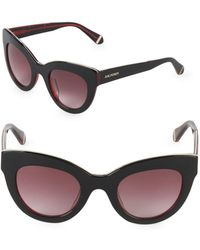 Zac Posen - Jacqueline 49mm Butterfly Sunglasses - Lyst