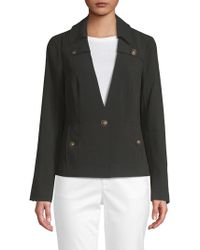 Laundry by Shelli Segal - Classic Crepe Jacket - Lyst
