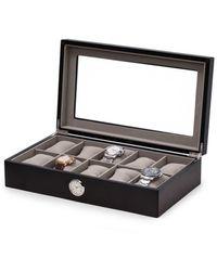 Bey-berk 10-watch All-in-one Box - Black