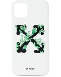 Off-White c/o Virgil Abloh Corals Logo Iphone 11 Pro Case - Green