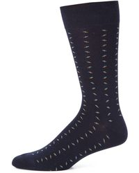Saks Fifth Avenue - Collection Combed Cotton Blend Socks - Lyst