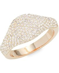 Swarovski Rose Goldtone & Crystal Ring - Multicolour