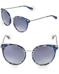 Balmain - 53mm Round Sunglasses - Lyst