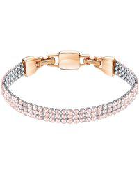 Swarovski Clim Crystal-studded Bracelet - Multicolor