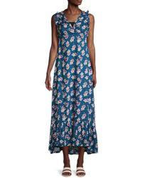 Tiare Hawaii Hope Maxi Dress - Blue
