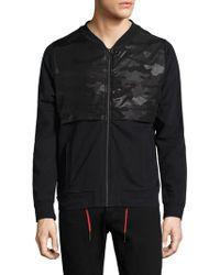 Strellson - Frame Zip-front Cotton Jacket - Lyst