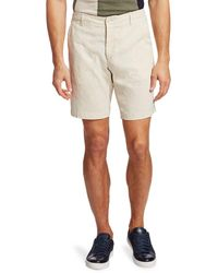 Saks Fifth Avenue Collection Linen-blend Shorts - Green