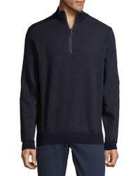 Bugatchi - Textured Cotton Jumper - Lyst