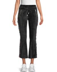 The Kooples Sequin-embellished Flared Pants - Black