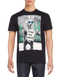 Riot Society - Feed The Bunnies Graphic Tee - Lyst
