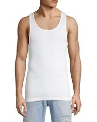 Calvin Klein 3-pack Cotton Tanks - White