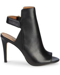 Calvin Klein - Sandria Leather High-heel Slingback Sandals - Lyst