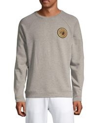 Versace Logo Crewneck Sweater - Gray