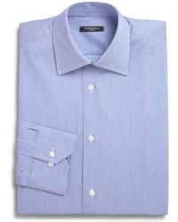 Saks Fifth Avenue - Collection Micro Stripe Dress Shirt - Lyst